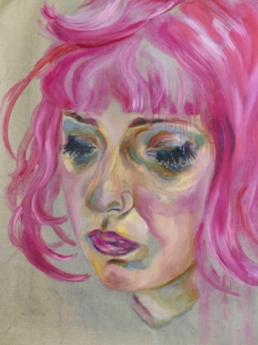 Autoportrait Rose