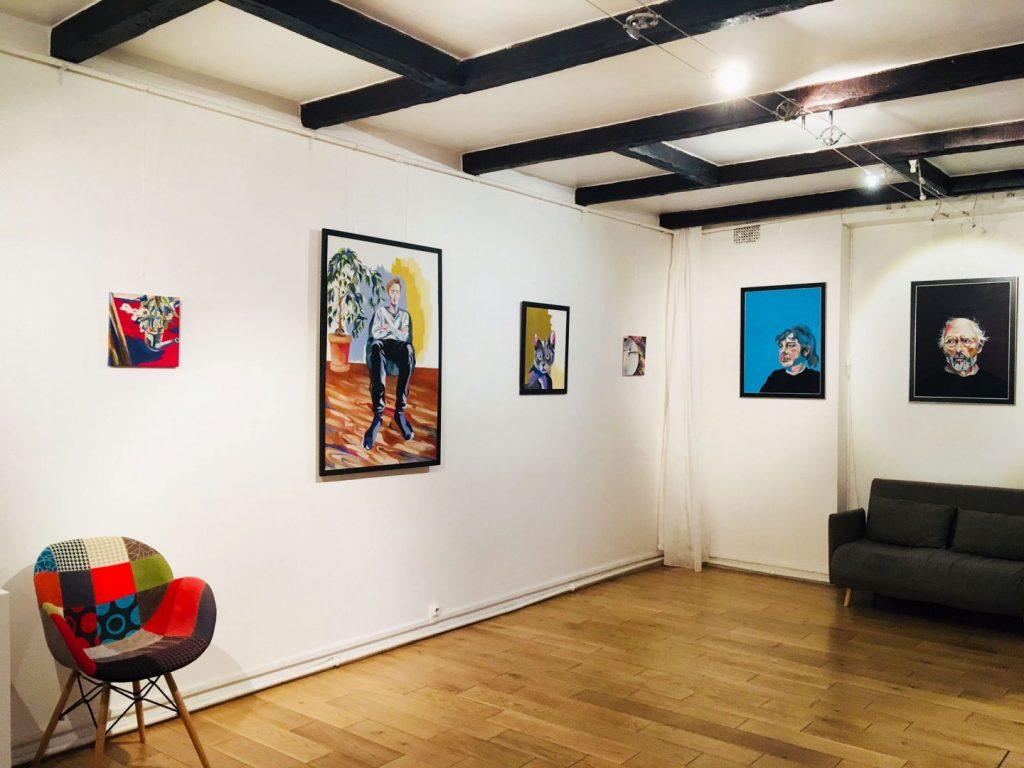 Expo Manon Bessiere au Fil Rouge Novembre 2019